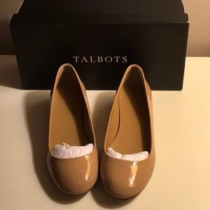 Talbots low heel dress shoes